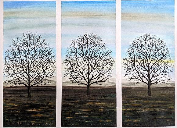 Tree Tritych no. 3