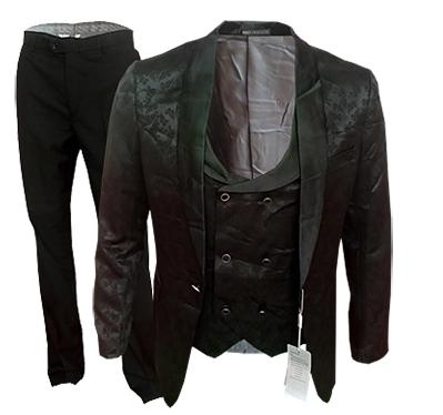 costume a motif 3 pieces