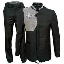 veste noir brodée