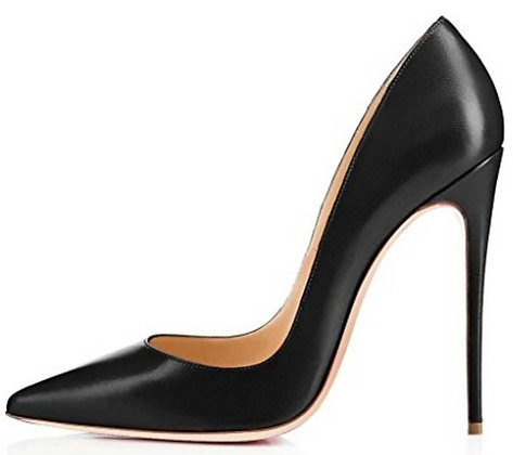 Formal black heels women