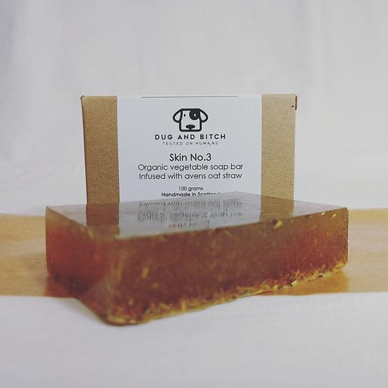 Skin No 3 (Avens oat straw soap)