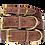 Thumbnail: The Monogram Collar - Chocolate