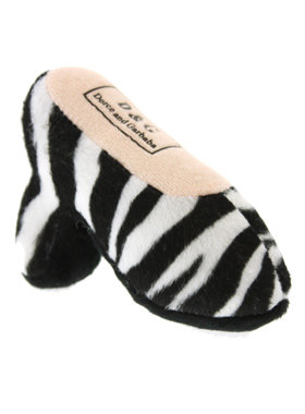 Designer Shoe Plush & Squeaky Dog Toy