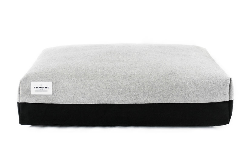 Boxed Pillow Bed - Melton Wool