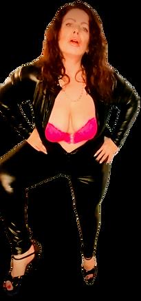 Mistress Suzanne november 2020 latex catsuit photoshoot