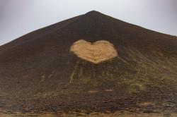 heart in mountain