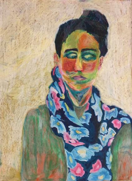 Naomi | Oil Pastels