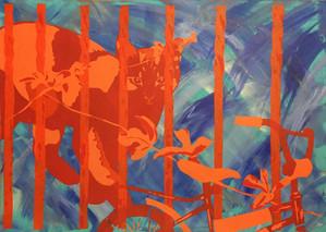 My Yard | Stencils | Acrylic