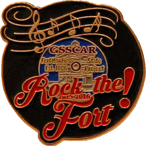 Rock the Fort State Pin
