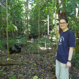 Mathilde Chanvin, Tangkoko Conservation Education
