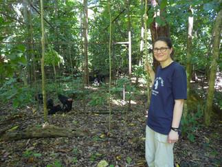 Mathilde Chanvin, Tangkoko Conservation Education