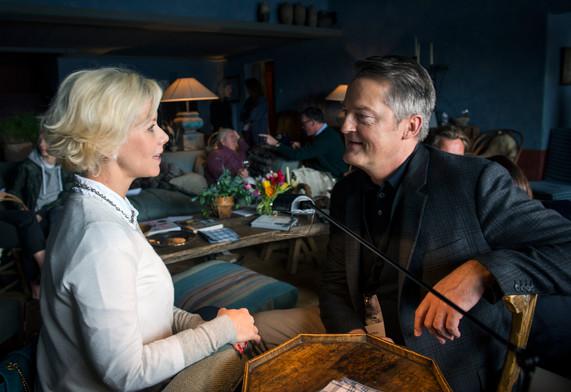 Elisabeth Esteve et Werner La Prairie vra