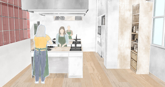 Cookery Workshop, Photoshop, Dimension, 2020.