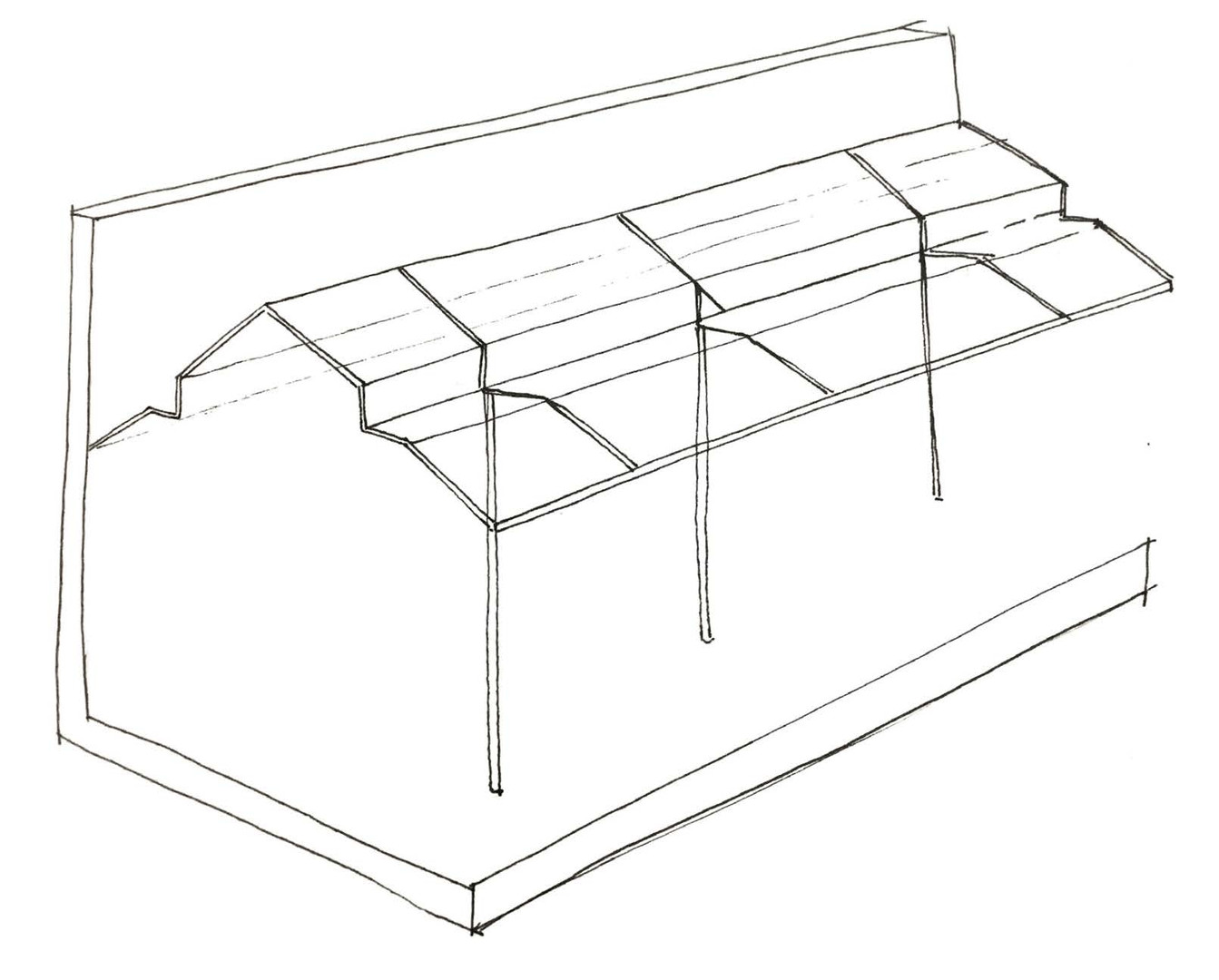 Initial Drawing of the Ceiling