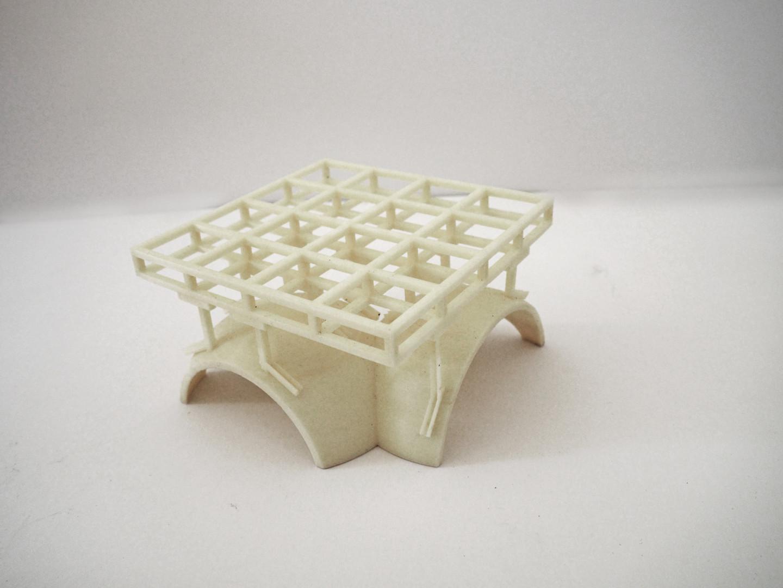 3D Print of Aesop Suspended Gypsum Plaster Ceiling