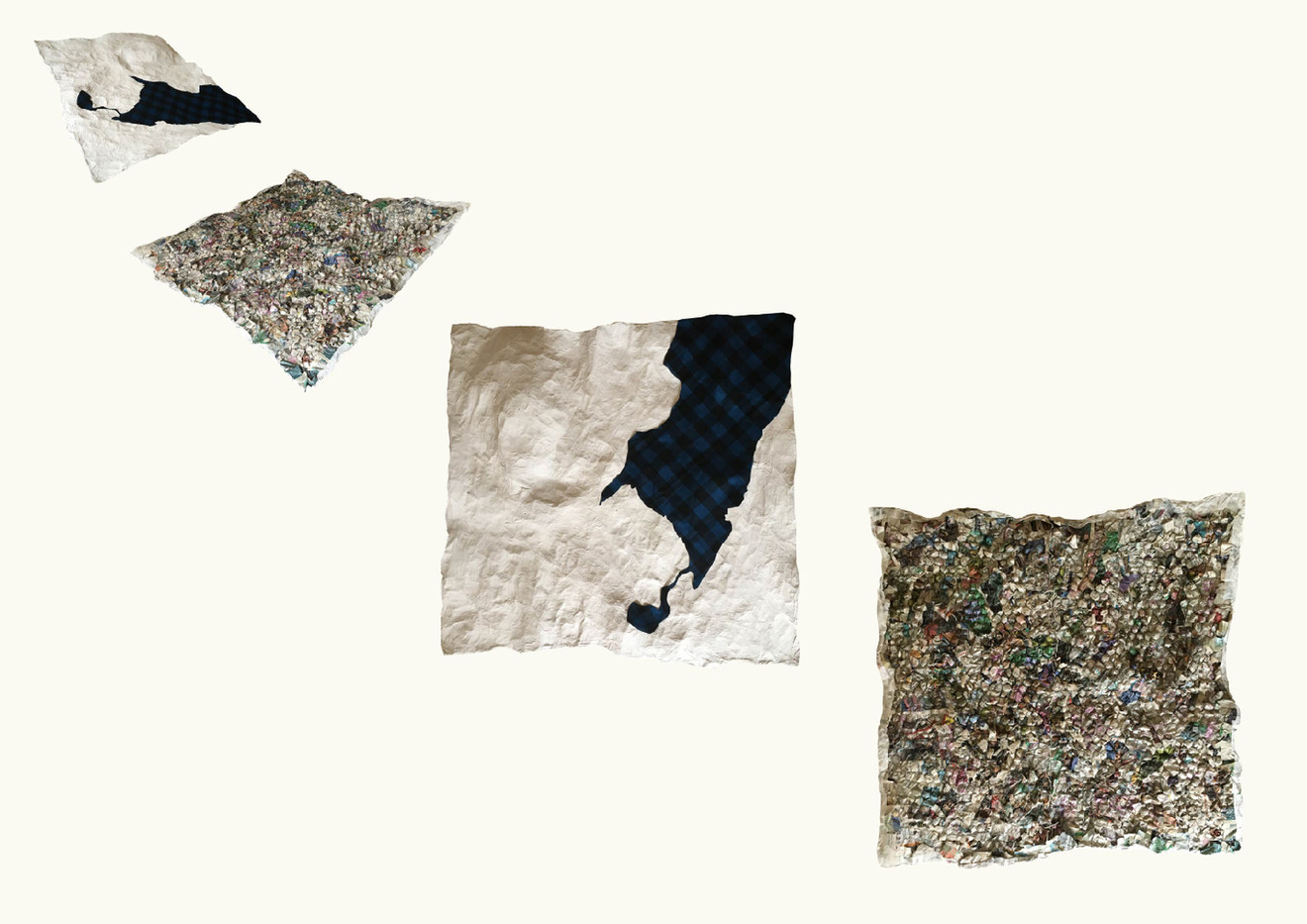 The Underneath: Experimental topography model, Cartographic Sculpture, 150x150cm, 2020