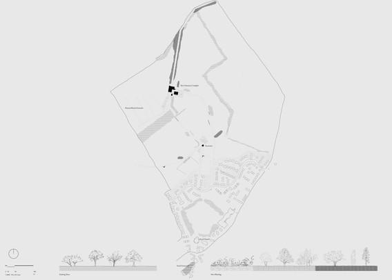 Landscape Plan, Digital Drawing, 595 x 841 mm, 2020