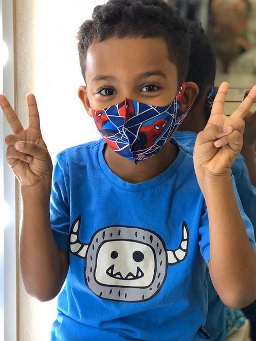 Máscara Infantil Homem Aranha
