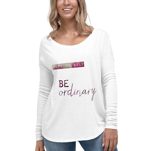 be ordinary