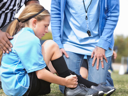 A Prayer for an Injured Teammate