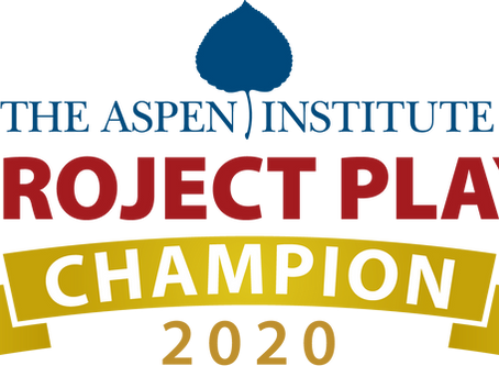 Play Like a Champion Named 2020 Project Play Champion