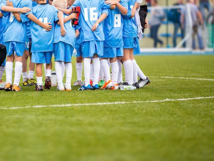 A Team Prayer Before Practice