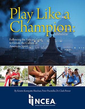 NCEA 2020 Play Like a Champion cvr. fina