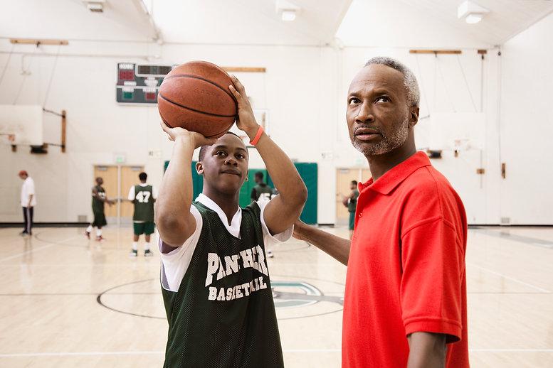 High School boys basketball Coach Free T