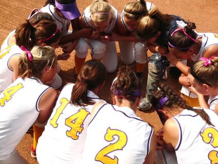 A Team Prayer After a Game