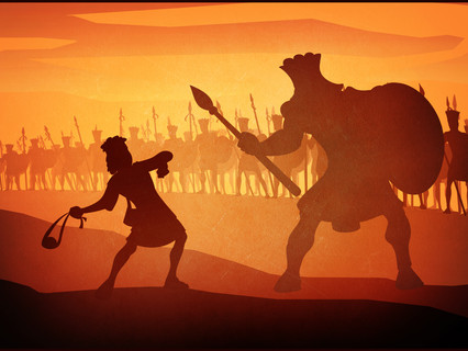 David & Goliath: Scripture and Prayer for Teams