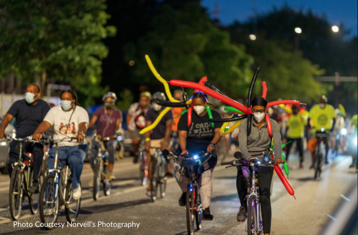 Boxing Out Negativity Bike Ride for Peace