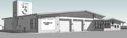 Rendering - Fire Station 3