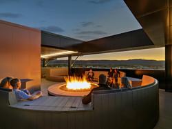 Firepit on Terrace