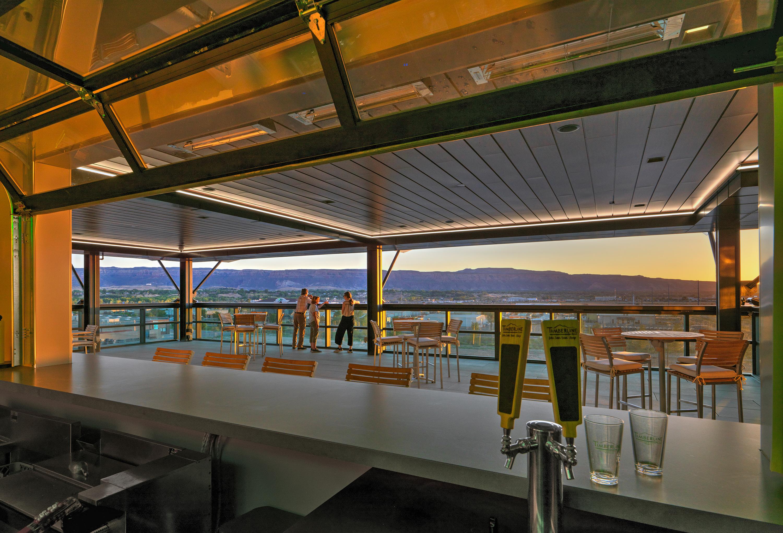 Views at sunset
