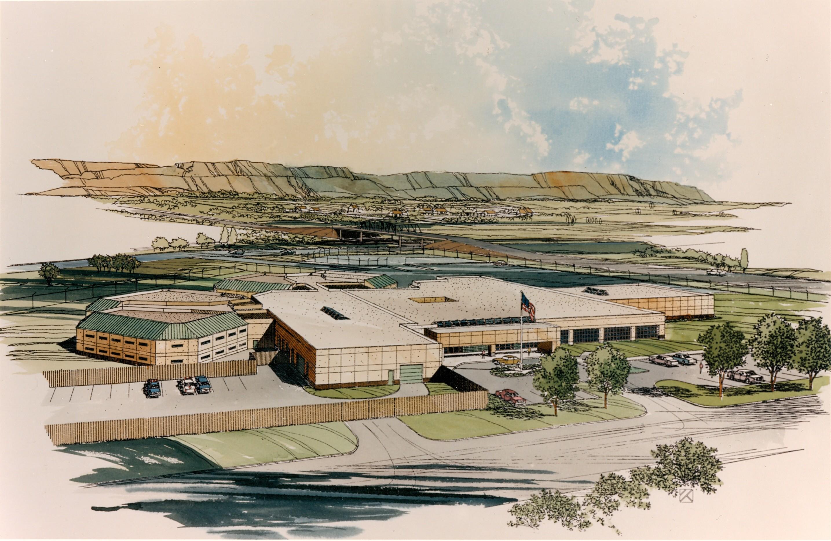 Mesa County Jail Conceptual