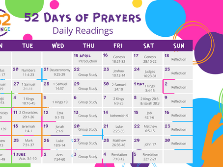 52 Days of Prayers Intro