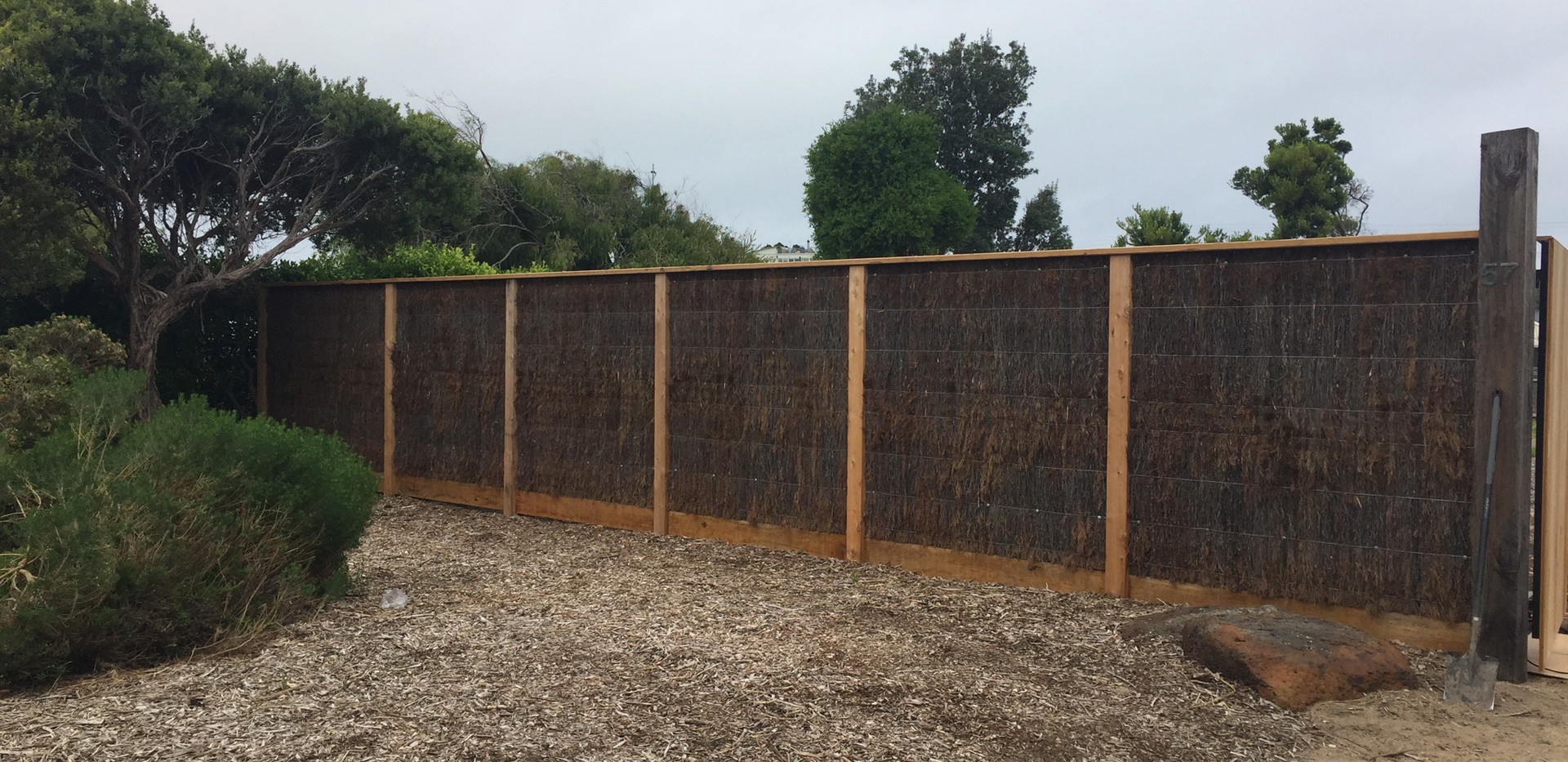 brush fencing Mornington Peninsula Fences