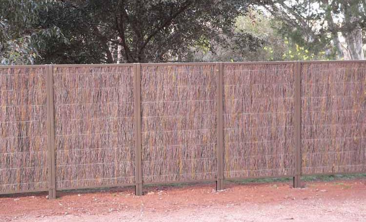 Mornington Peninsula Fences Brush fence