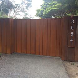 Instagram - Sliding entry gate