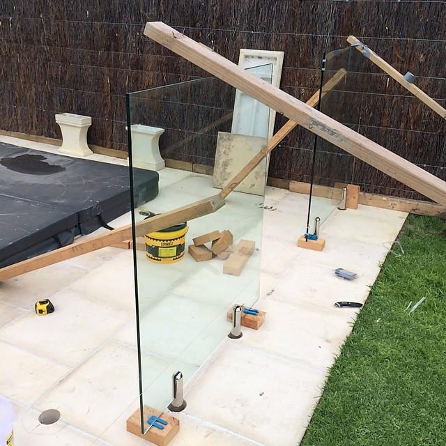 Instagram - Glass pool fence #fence #bui
