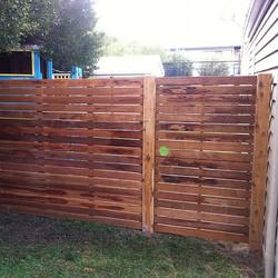 Instagram - Hardwood side gate #fencingplus #gate #fence