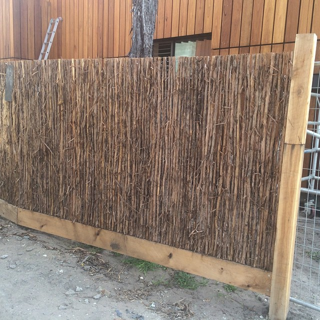 Instagram - Teatree fencing #builttolast #fence  #fast2k #allnatural