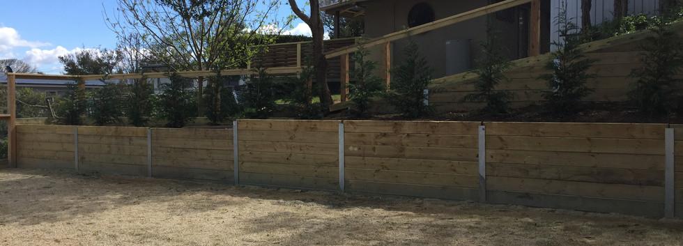 retaiging wall Mornington Peninsula Fences
