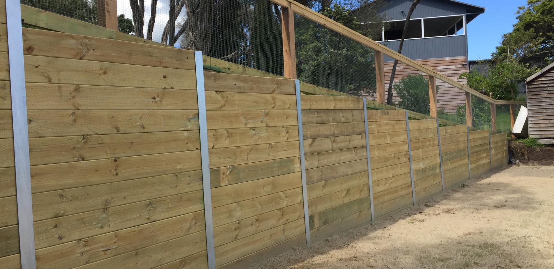 Mornington Peninsula Fences Brush fenceI