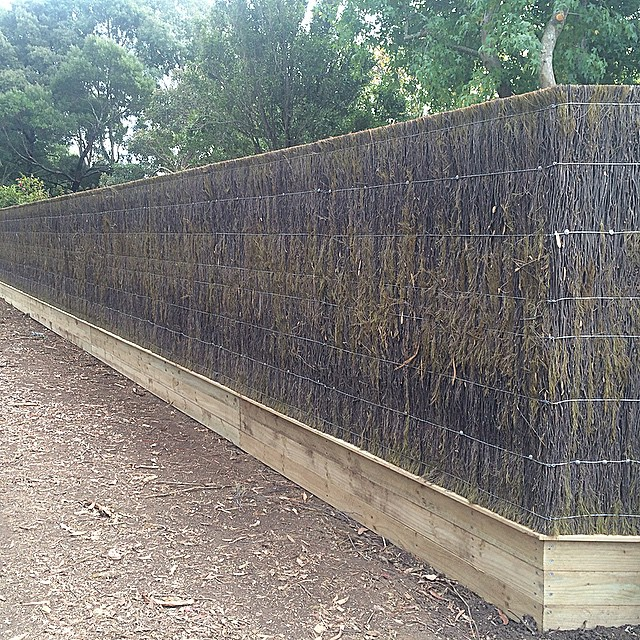 Instagram - Brush panel fence #fence #fencing