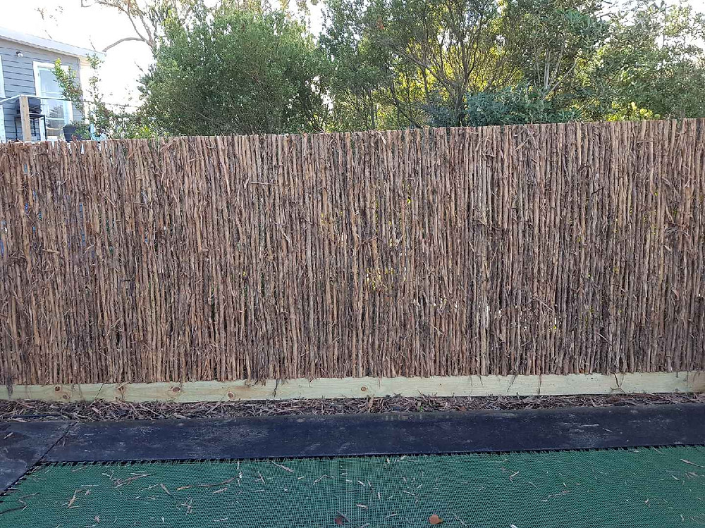 A Fence on the Mornington Peninsula ready in time for Christmas in July
