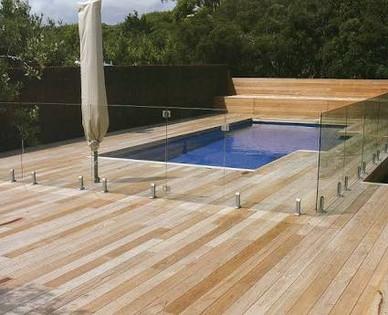 Pool fence pool deck Mornington Peninsula Fences