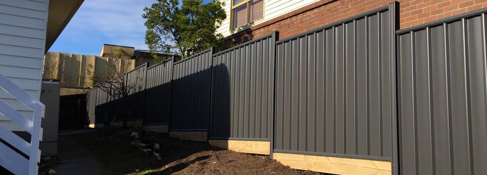 colorbond fence Mornington Peninsula Fences
