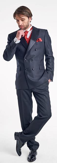 Tuxedo Cruzado Negro