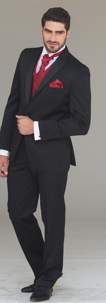 Tuxedo Solapa Pta Negro